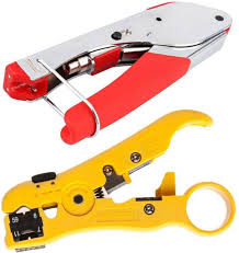FineArts <b>rg6</b>-stripper-tool Crimping Multitool Wire Stripping Pliers ...