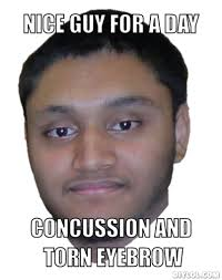 Concussion Meme Generator - DIY LOL via Relatably.com