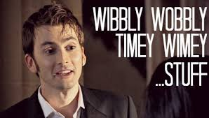 Image result for timey wimey