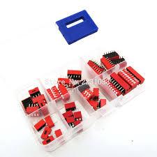 Online Shop 35PCS/LOT Dip Switch Kit In Box <b>1 2 3 4 5</b> 6 8 Way ...