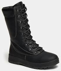 <b>Высокие ботинки</b> женские ARCTIC (цвет черный, натуральная ...