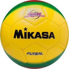 <b>Мяч футзальный Mikasa</b> FSC-450, желтый, зеленый, красный ...