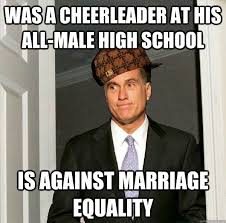 Was a Cheerleader at his all-male high school Is against marriage ... via Relatably.com