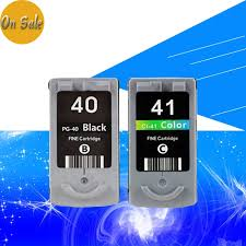 Hisaint <b>PG 40 CL 41 Ink Cartridge</b> for CANON PG40 CL41 for ...