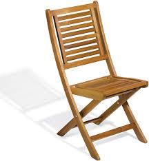 tidyard Outdoor Folding <b>Dining Chair 2 pcs</b> Acacia Wood