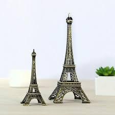 Paris Eiffel <b>Tower</b> Metal Model Craft Figurine Travel Souvenirs ...
