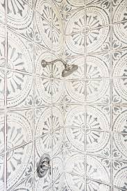 patterned tiles wallpaper ideas