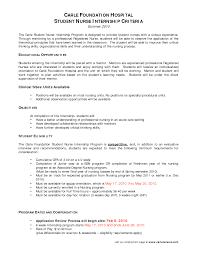 cover letter for sample cover letter sample objective for internship resume