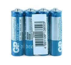 Купить <b>Батарейка GP</b> Power Plus R6 солевая <b>AA</b>, 4 шт с ...