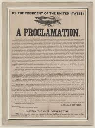 「Lincoln's 1862 Emancipation Proclamation,」の画像検索結果
