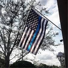 Image result for picture of police flag