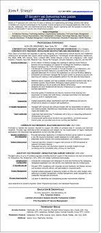 sample résumé it executive executive resume writer it security executive john stanley
