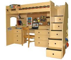 creative loft bunk beds with storage amazing loft bed desk