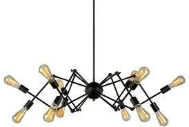 black industrial spider chandelier pendant lamp light industrial pendant lighting chandelier pendant lighting