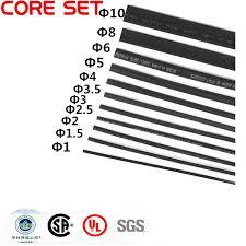 11Meters/set Heat Shrink Tubing 1mm <b>1.5mm 2mm 2.5mm 3mm</b> 3.5 ...