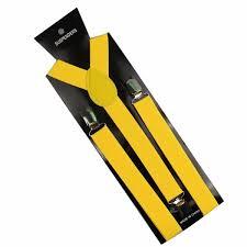 <b>Winfox</b> 1 Inch Wide Black <b>Red</b> Yellow Y Back Clip On Women Men ...