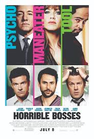 jason bateman jason sudeikis and charlie day lock horrible bosses horrible bosses movie poster hi res 01