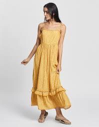 <b>Isla</b> Frill Summer Maxi <b>Dress</b> by Gysette Online | Ietp | Australia