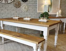 Kitchen Table With Benches Set Wood Table And Bench Set Home Design Ideas