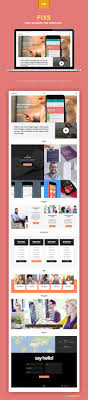 single page website template zippypixels make beautiful websites and presentations this single page template psd