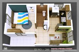 D isometric views of small house plans   Kerala home design and        d isometric view