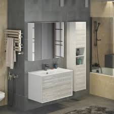 Зеркало-шкаф Comforty Женева 90 - Дом Сантехники