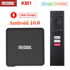 <b>Mecool KM3 ATV</b> Android 10.0 <b>Google</b> Certified TV Box 4GB 64GB ...