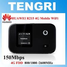 <b>Unlocked HUAWEI E5372</b> Vodafone R215 <b>4G</b> LTE Mobile WiFi ...