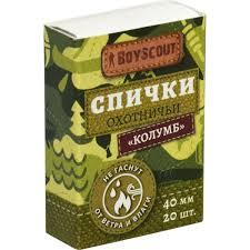 <b>Спички Boyscout</b> «<b>Колумб</b>» 40 мм, 20 шт. в Кемерове – купить по ...