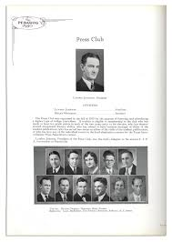 lot detail lyndon b johnson s 1930 senior year college yearbook lyndon b johnson s 1930 senior year college yearbook four photos of the