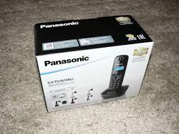 радиотелефон panasonic kx tg1612 ru1 grey white