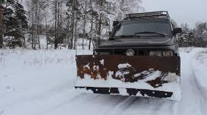 <b>Отвал</b> своими руками на УАЗ/Чистим <b>снег</b> УАЗом - YouTube