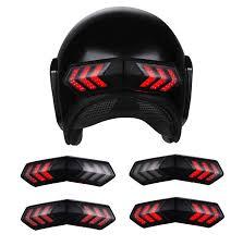 12V <b>Wireless Motorcycle Helmet</b> LED Brake Turn Signal Light ...