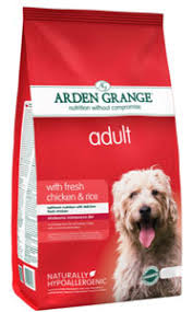 <b>Arden Grange</b> Adult Dry Dog Food fresh <b>chicken &</b> rice 6kg