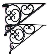 all cees wrought iron mantel brackets wrought iron rustic decor 12 45 achla designs wrought iron