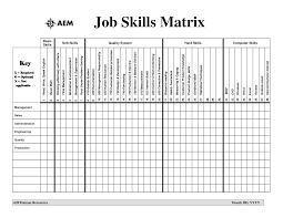 best photos of job description matrix job skills matrix template job skills matrix template