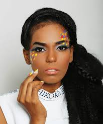 glitter avant grade makeup avant garde meets arabic