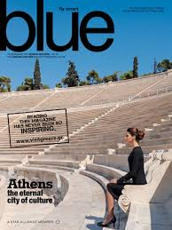 blue magazine aegean airlines