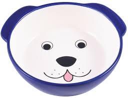 <b>КерамикАрт миска керамическая для</b> собак 180 мл Мордочка ...