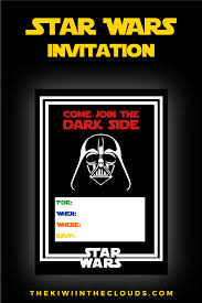 star wars party printables a no stress way to a galactic party star wars party invitations printable