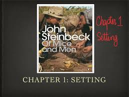of mice and men audio of mice and men analysis setting ch1