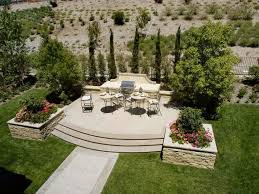 bbq patio designs fresh barbecue patio landscaping this backyard features a raised patio with