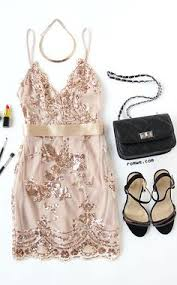 <b>Rose Gold Sequin Dresses</b>