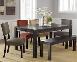 Dining Room Table With Benches Bench Dining Tables With Benches Eleanor Table And Bench Set Long