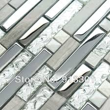 kitchen backsplash stainless steel tiles:  images about backsplash on pinterest glass mosaic tiles mosaics and glasses