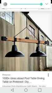 Industrial farmhouse <b>light</b> fixture, perfect to hang above your dining ...