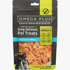 King <b>Salmon Bites</b> - Omega Plus Petfoods