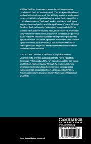 com william faulkner in context literature in context com william faulkner in context literature in context 9781107050372 john t matthews books