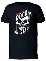 SmartPrints Graphic Streetwear <b>Free Soul Rock Star</b> Tee Men's ...