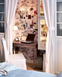 you can hide a tiny working area in a bedroom bedroom home office